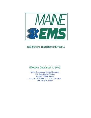 Effective December 1, 2013 - Maine.gov