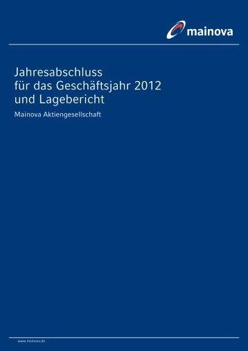 Jahresabschluss Mainova AG 2012 (pdf | 1,63 MB)
