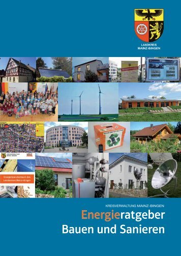 """Energieratgeber """"Bauen und Sanieren"""" - Landkreis Mainz-Bingen"""