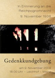 Flugblatt 9. November 2009   PDF-Format - VVN-BdA Mainz