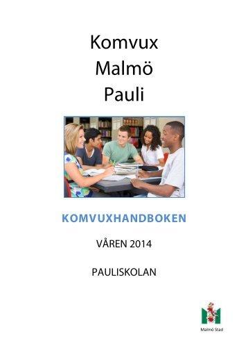 Läs vår handbok här. - Malmö stad