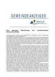 GA 49-2013 - Gemeinde Malsch