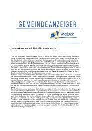 GA 31-2013 - Gemeinde Malsch