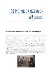 GA 47-2013 - Gemeinde Malsch