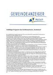GA 08-2013 - Gemeinde Malsch