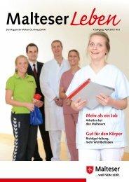 Mehr als ein Job Gut für den Körper - Malteser Krankenhaus St. Anna