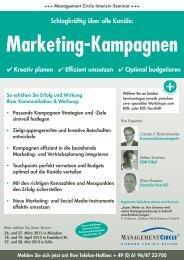 Seminar: Marketing-Kampagnen - Management Circle AG