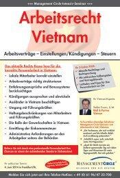 Seminar: Arbeitsrecht Vietnam - Management Circle AG
