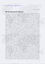 Die Entstehung der Eiszeiten - von Manfred Hiebl