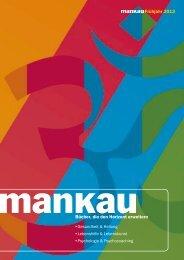 Verlagsprogramm im Frühjahr 2013 - Mankau Verlag