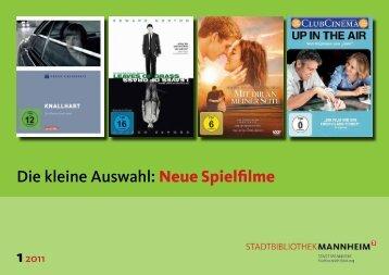 Die kleine Auswahl: Neue Spielfilme