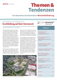 Themen & Tendenzen 4/2013 - Stadt Mannheim