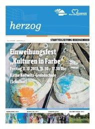 """Einweihungsfest """"Kulturen in Farbe"""" - Stadt Mannheim"""