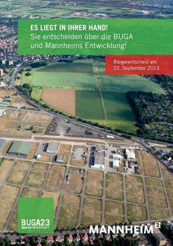 Sie entscheiden über die BUGA und Mannheims ... - Stadt Mannheim