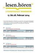stadtbibliothekplus für Grundschulen - Stadt Mannheim - Page 6