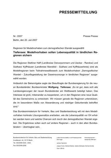 PRESSEMITTEILUNG - Landkreis Mansfeld-Südharz