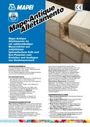 Mape-Antique Allettamento Mape-Antique Allettamento - Mapei
