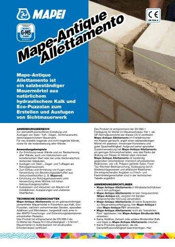 Mape-Antique Allettamento Mape-Antique Allettamento - Mapei