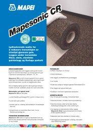 Mapesonic CR - Mapei