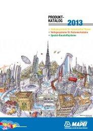 PRODUKT- KATALOG 2013