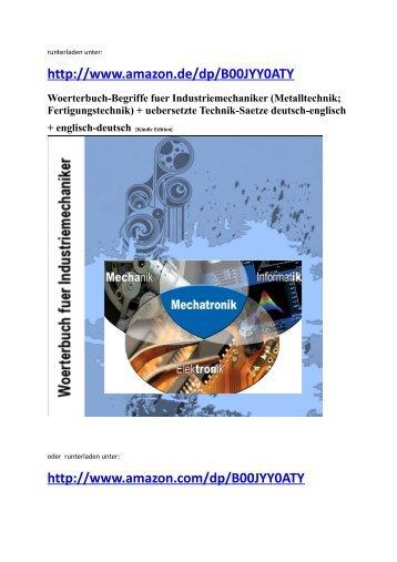german-english dictionary mechanics: Neuveroeffentlichung maerz 2014