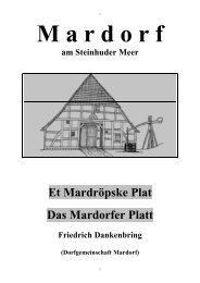 Et Mardröpske Plat - Mardorf