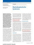 Myelodysplastische Syndrome. In: Der Internist, Vol. 6, 2013. - Seite 2
