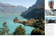 Beschauliche Ruhe - marina.ch - das nautische Magazin der Schweiz