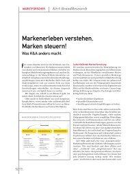 Profil als PDF - marke41