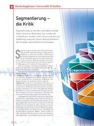 segmentierung – die Kritik - marke41