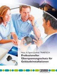 Professioneller Überspannungsschutz für Gebäudeinstallation, 2013