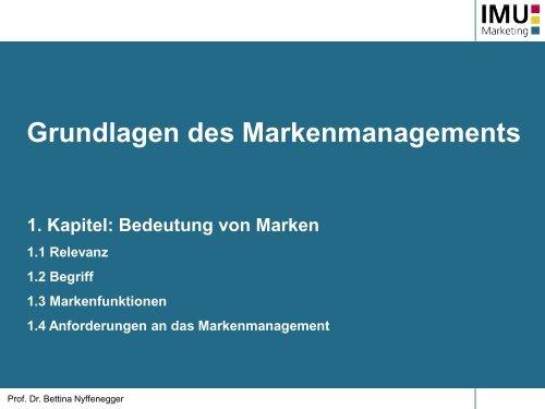 Kapitel 1 (pdf, 785KB) - IMU - Marketing