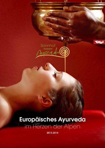 Europäisches Ayurveda im Herzen der Alpen - Ayurveda Hotel ...