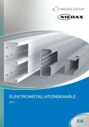 Niedax EIK Katalog 2013 (PDF-Datei, 9.157KB)
