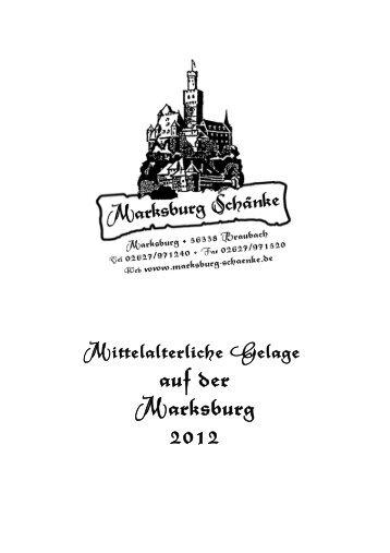 auf der Marksburg 2012 - Marksburg-Schänke