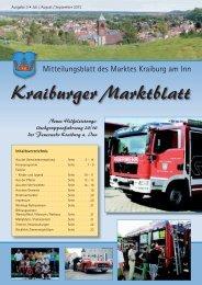 Ausgabe 3 - Juli / August / September - Markt Kraiburg am Inn