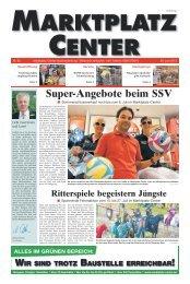 Super Angebote beim SSV - Marktplatz-Center, Neubrandenburg