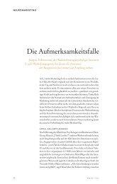 Die Aufmerksamkeitsfalle - Markus Giesler