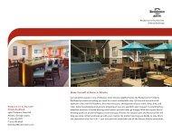 Hotel Brochure - Marriott International