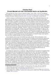Ernest Mandels teori om byråkratin - Marxistarkiv