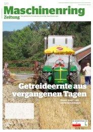 Zeitung Juni 2013 - Maschinenring