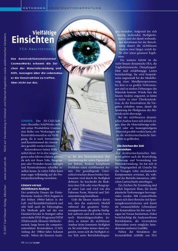 Vielfältige Einsichten - Maschine + Werkzeug