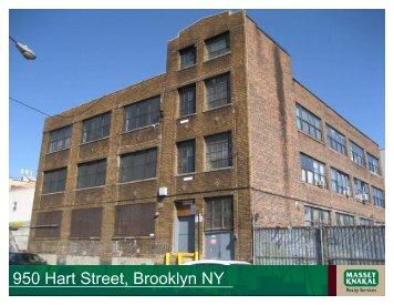 950 Hart Street, Brooklyn NY - Massey Knakal Realty Services