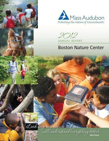 2012 Annual Report - Mass Audubon