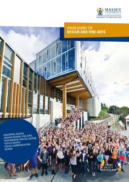 Your Guide To Design And Fine Arts 2663 Kb Massey University