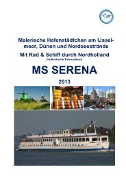 MS SERENA - Master Cruises & Tours