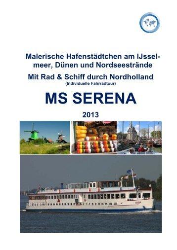 MS SERENA - Master Cruises & Tours