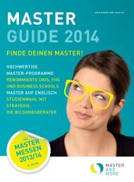 master guide 2014 - Master and More