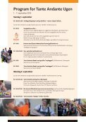 Program for Tante Andante Ugen - Page 2