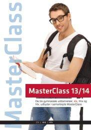 MasterClass 13/14